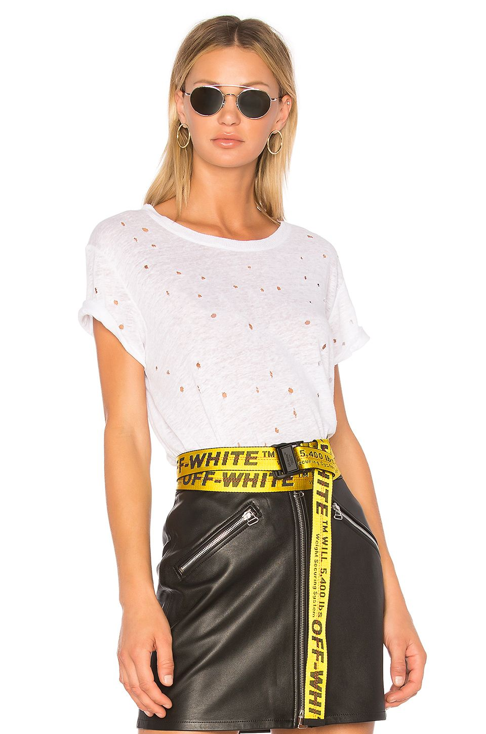 Off White Industrial Belt Off White Off White Belt Off White Industrial Belt Fashion