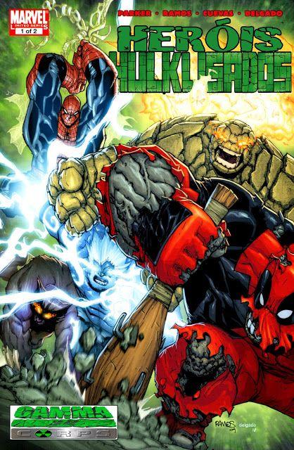 SAM-COMICS: Guerra Mundial Hulks 02 - Heróis Hulklisados 01 (2...