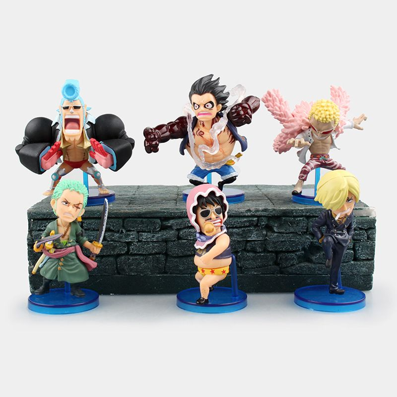 One Piece Action Figure Anime Luffy Gear 4 Classic Collection PVC Model Toys  6 Pcs Set   Price   19.00 ✓Free Shipping Worldwide Tag your friends who  would ... fb0b6ed51aea