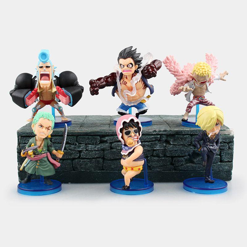 One Piece Shanks /& Luffy Figure Figuras Figurines Anime Manga Statues Jouets Toy