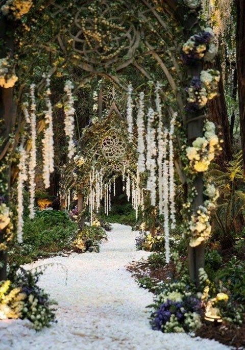 65 Enchanted Forest Wedding Ideas Hywedd