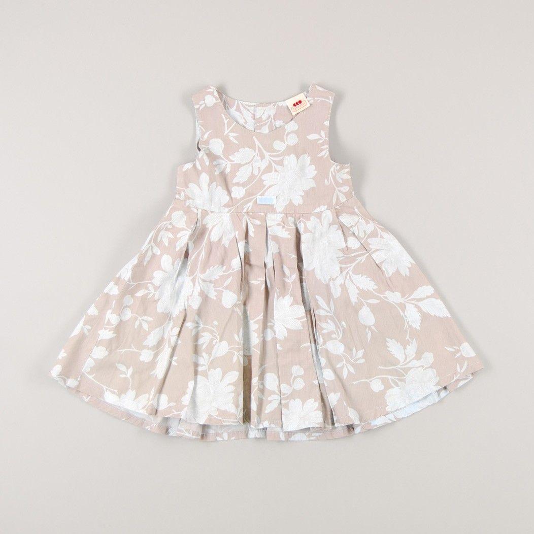 b619c7390d69 Vestido fino estampado de flores de marca 3 Pommes | Vestidos de ...