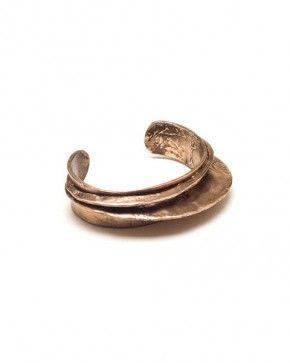 WWAKE Layered Cuff in Bronze