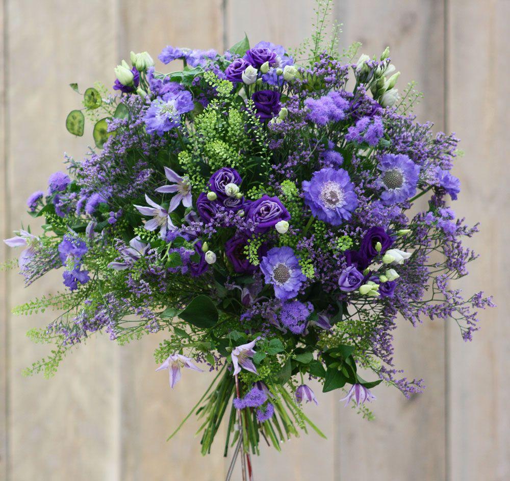 Blumenstrauß Blau