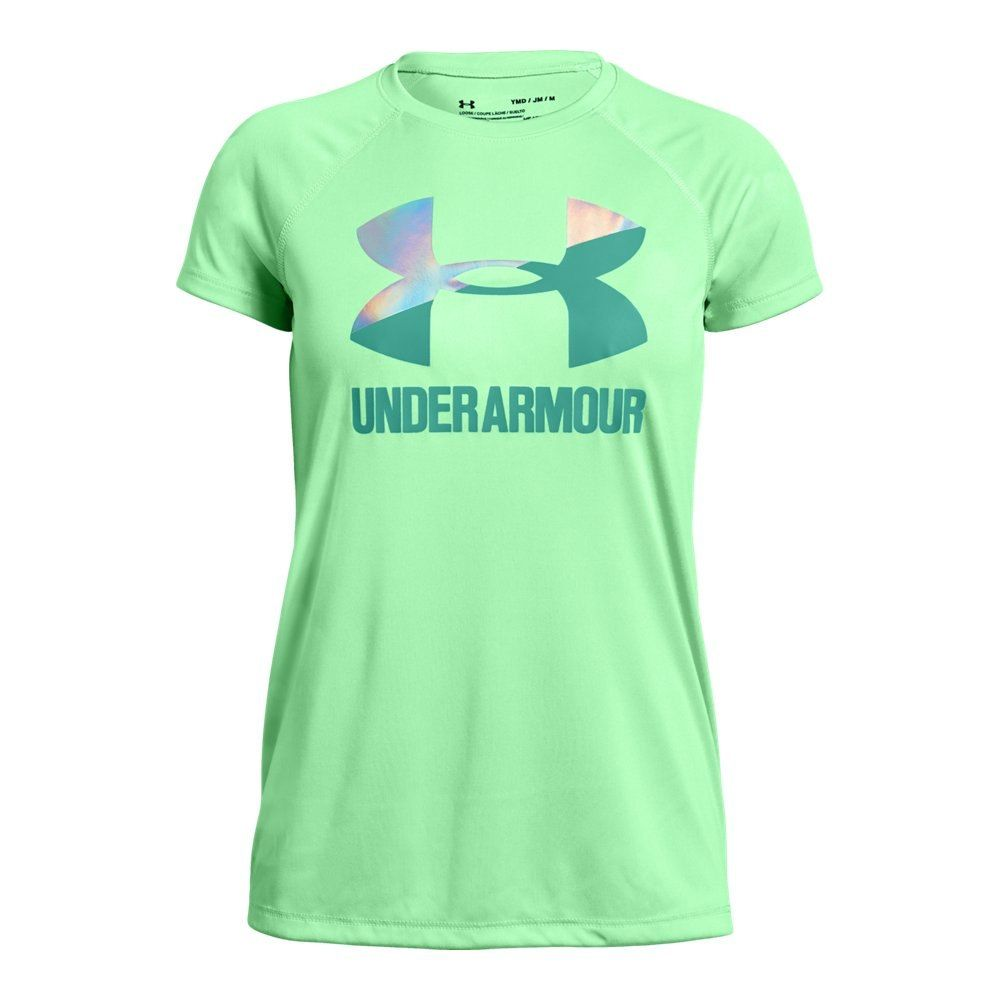 4d19e2ef31 Girls' UA Big Logo Solid T-Shirt | Under Armour US | Products ...
