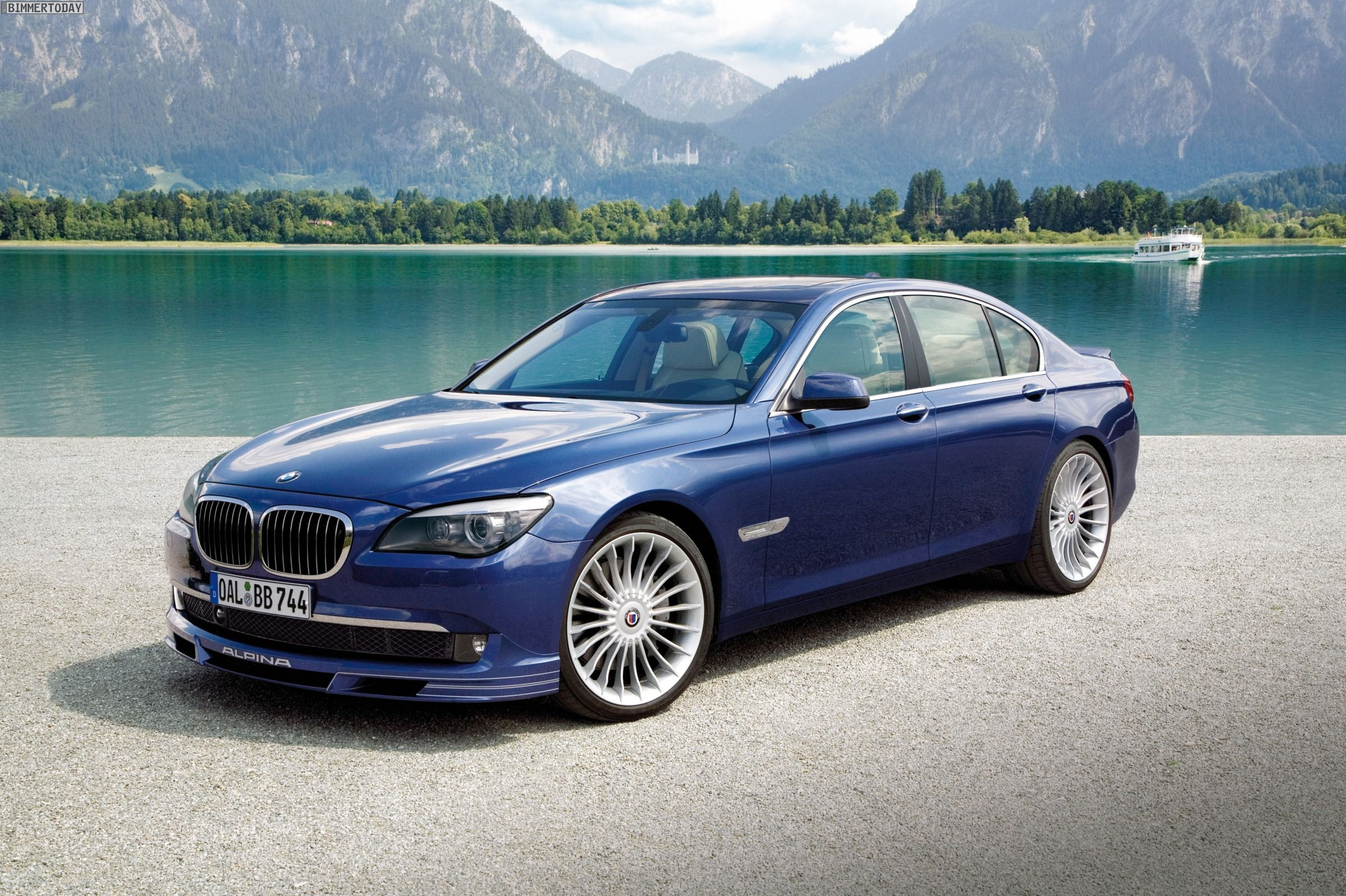BMW Alpina B7 Biturbo F01 F02 Wallpaper 02