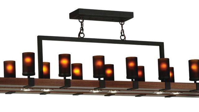 The Grand Terrace 14 Light Pendant from Meyda Custom Lighting