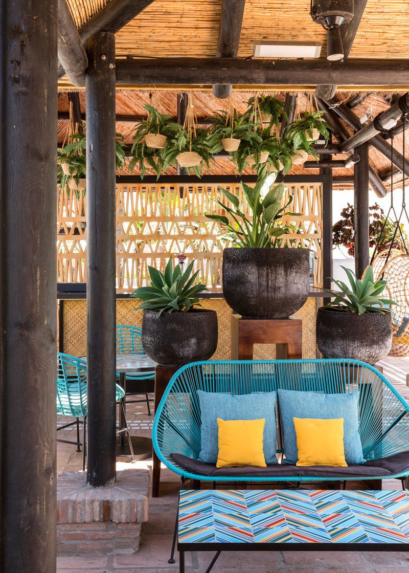 Eclectic decor and tranquil atmosphere: Hotel Jardín Tropical in ...