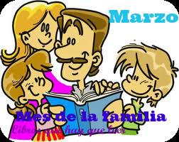 Mes Tematico De La Familia Marzo Voy A Participar En El Mes Tematico De