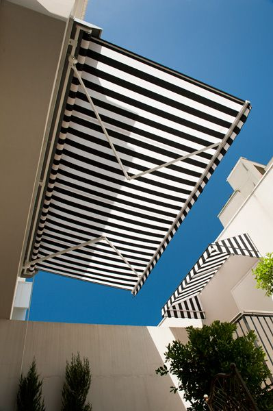 Folding Arm Awnings Retractable Blinds Outdoor Exterior