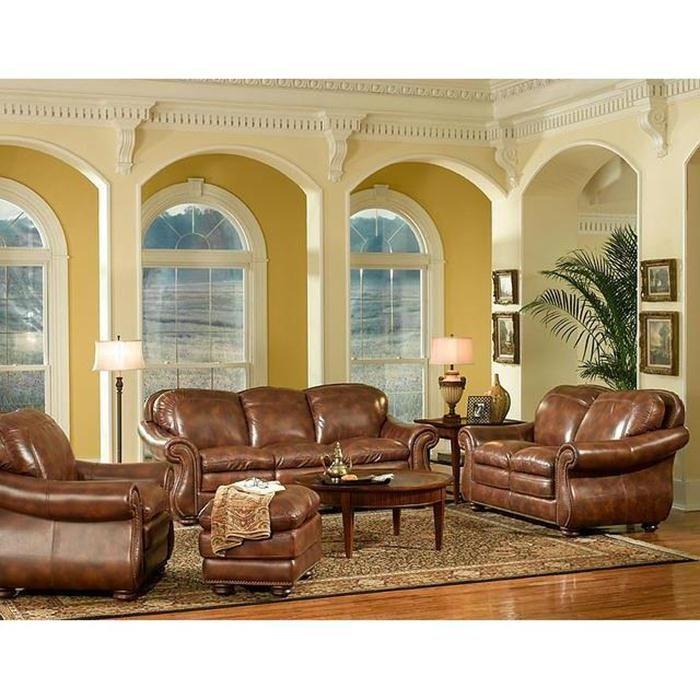 Best 4 Piece Pecan Living Room Set Nebraska Furniture Mart 400 x 300
