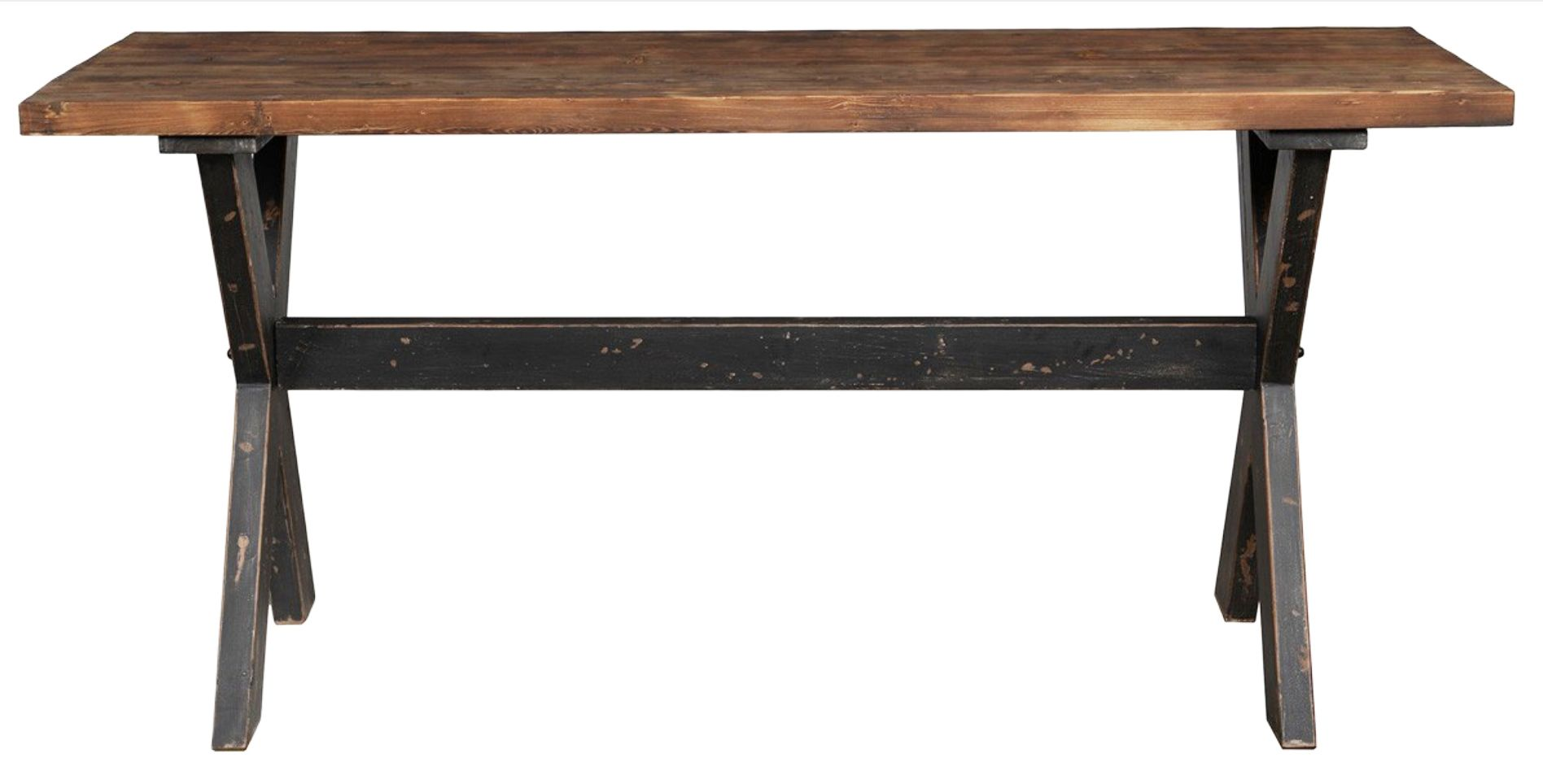Thick And Sturdy Top Reclaimed Wood Table Top With Clear Sealer - Thick wood table top