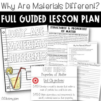 5th Grade NGSS // Why Are Materials Different? // Full