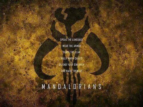 Mandalorian Code Star Wars Quotes Star Wars Fett Star Wars Images