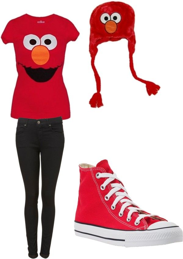 """elmo!!!!!!!!!!!!!!!!!!!!!!!!!!"" by baybay2878 ❤ liked on Polyvore"