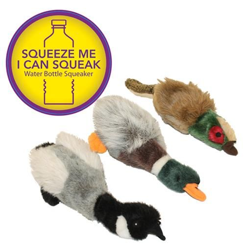 Migrators Water Bottle Dog Toys With A Squeaky Plastic Water
