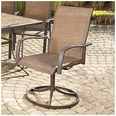 Best Wilson Fisher® Set Of 2 Chesapeake Sling Swivel Chairs 400 x 300