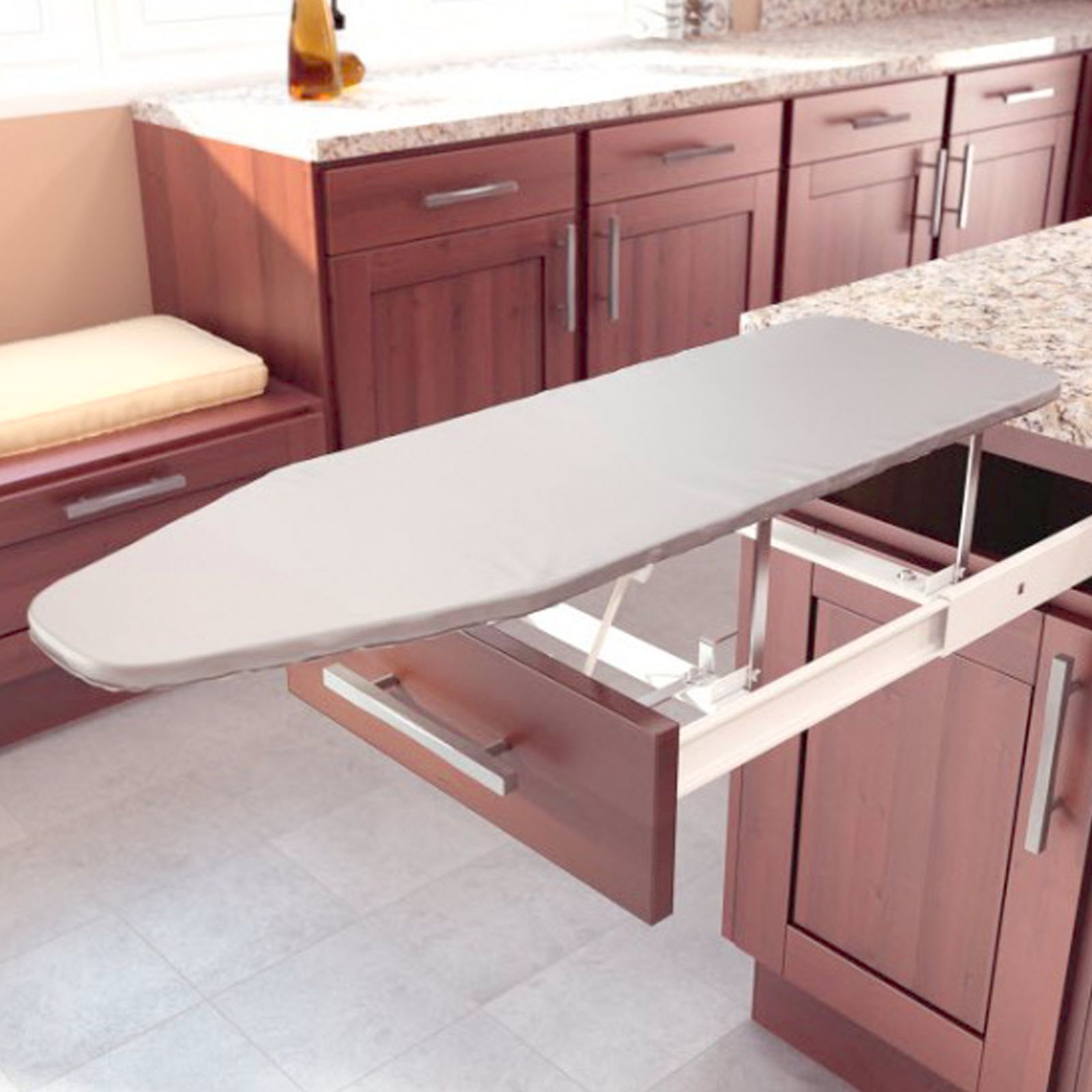 Pull Out Drawer Ironing Board Pull Out Ironing Board Ironing