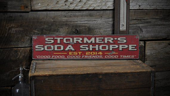 Rustic Hand Made Vintage Wooden Sign ENS1000385 Custom Family Lodge Date Sign