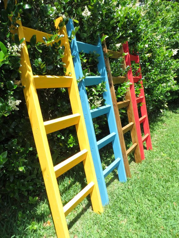Pool Towel Drying Rack Adorable 6 Ft Pool Towel Rack Beach Towel Ladder Pool Towel Stand Decorating Inspiration
