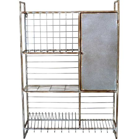 Hang This Wire Rack Above The Kitchen Sink To Drip Dry Dishes Or Display Your Hot Sauce Collection Product Wall