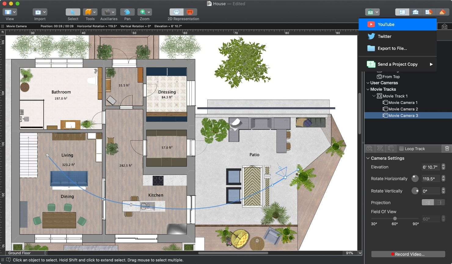 Create A Thorough Floor Plan With Live Home 3d Interior Design Software Home Design Software Interior Design