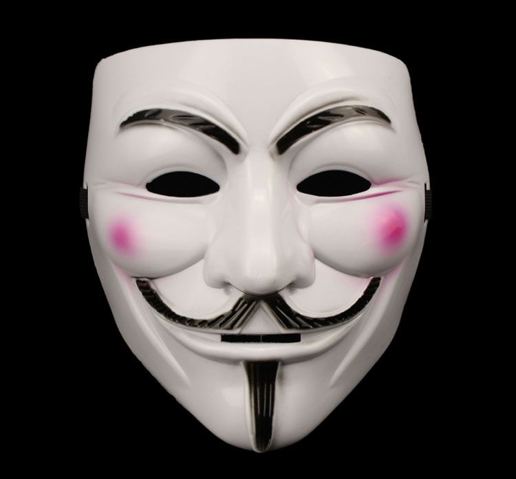 Halloween Masquerade Face Mask V For Vendetta Fawkes Fancy Dress Party