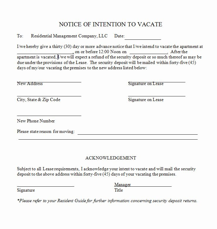 16++ Rental move out letter ideas