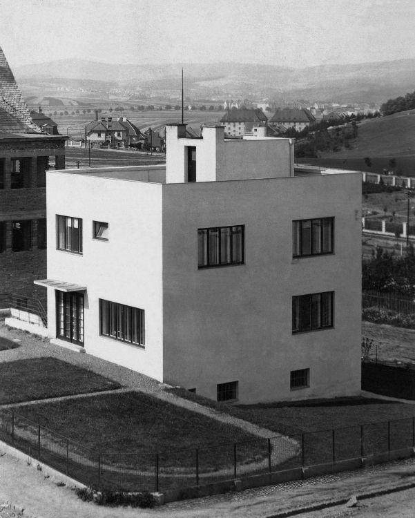 Art Deco Residential: Family House, Jan Víšek, Brno, Czechoslovakia 1926