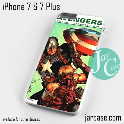 The Avengers Comic Marve 7 Phone case for iPhone 7 and 7 Plus