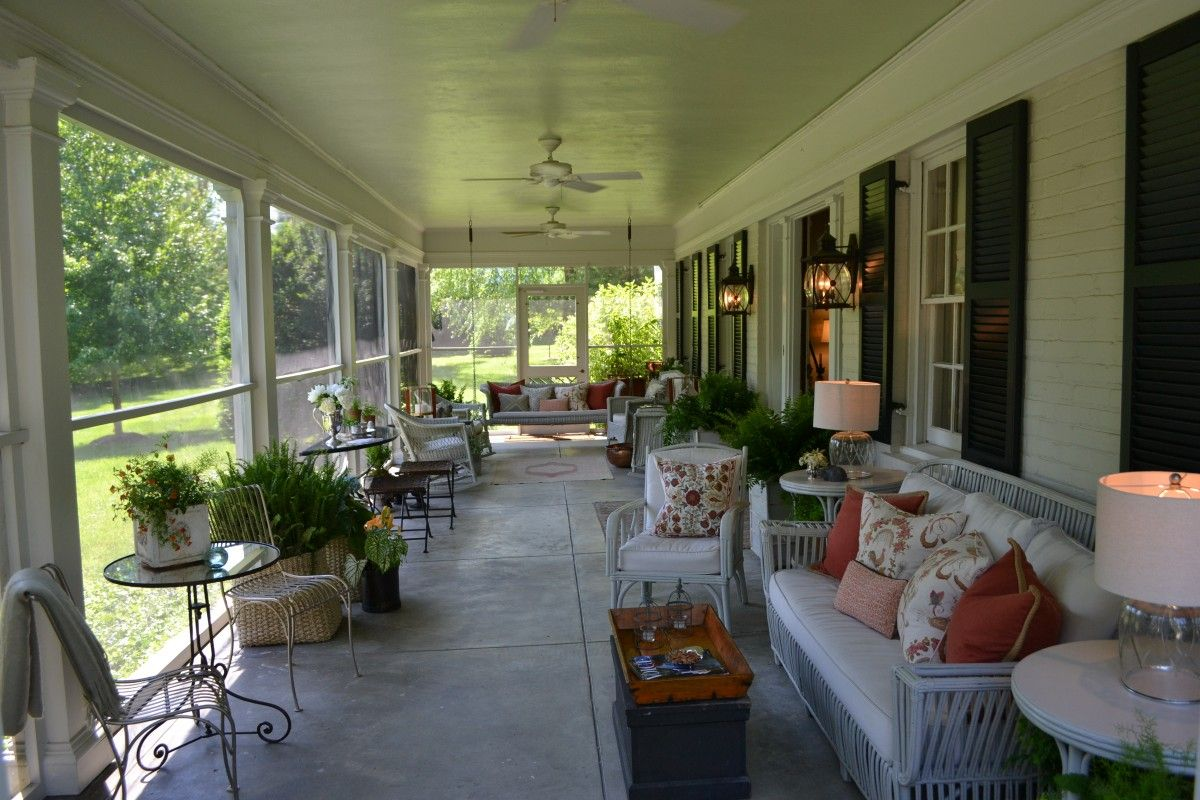 Beautiful Southern Porches Beautiful Front Porches And