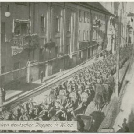 Accadde Oggi: 18 Settembre 1915 - VILNIUS PASSA IN MANO AI TEDESCHI