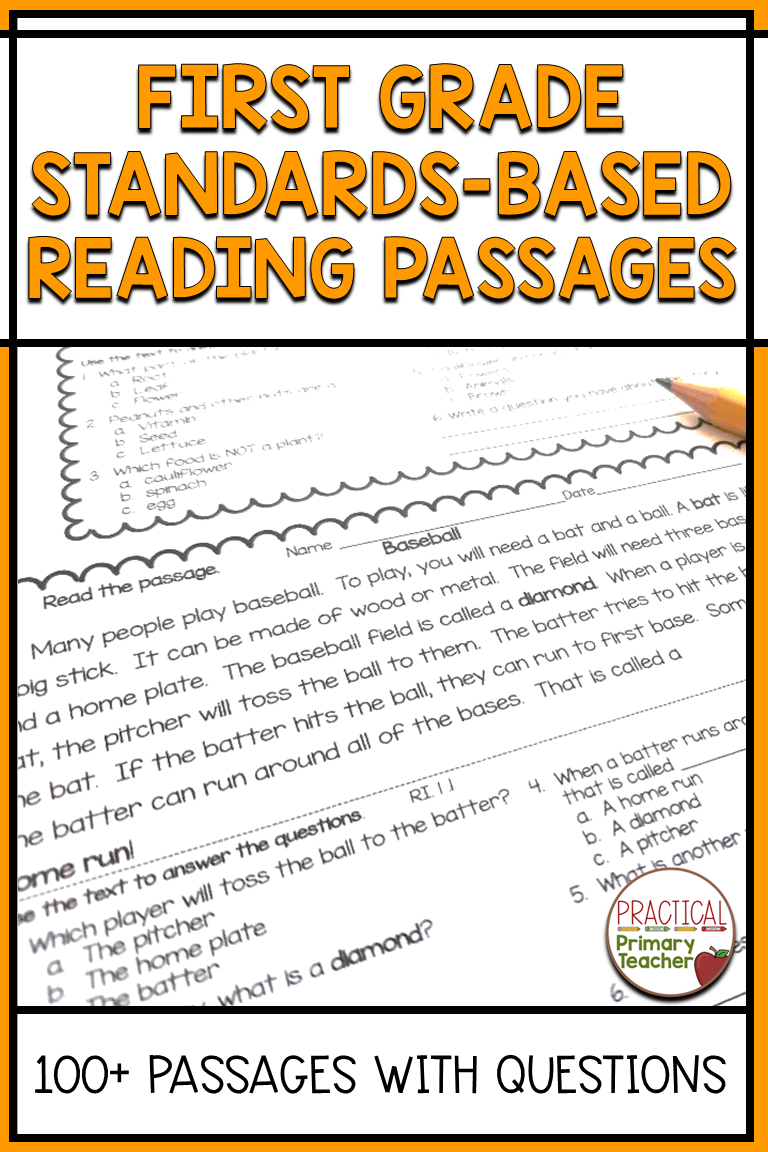 First Grade Reading Worksheets Reading Comprehension Passages First Grade Reading Comprehension Reading Comprehension Practice [ 1152 x 768 Pixel ]