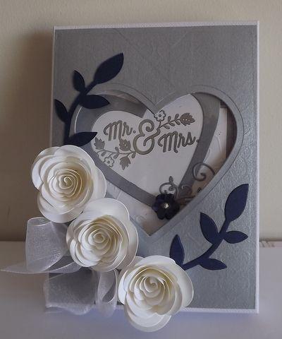 Wedding Card In The Box Wedding Cards Wedding Anniversary Cards
