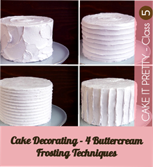 cake-decorating-buttercream-frosting-techniques and other tutorials