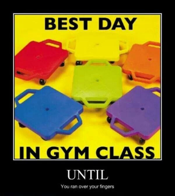 Best day in gym class until...