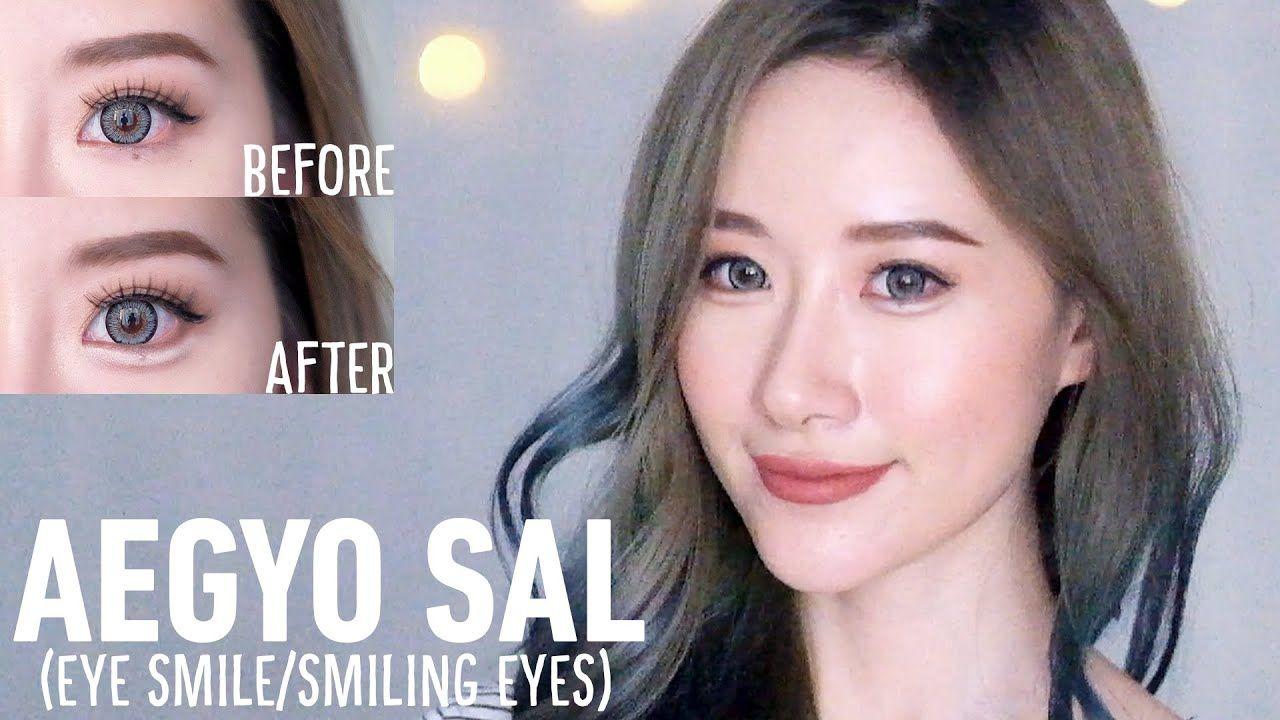How To Aegyo Sal Puffy Smiling Eyes In 3 Steps Elle Yamada Korean Makeup Tips Smiling Eyes Korean Makeup