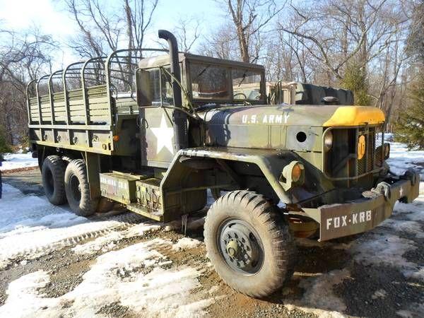 1971 M813 6x6 Military Cargo Truck