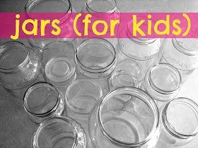 A girl and a glue gun: mason jars...for kids!