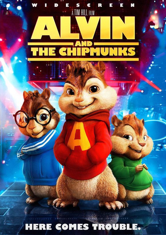 Alvin And The Chipmunks 27x40 Movie Poster 2007 Filmes Filmes