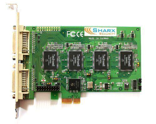 Sharx Security SCXSC300-32 32 Channel PCI-express Digital