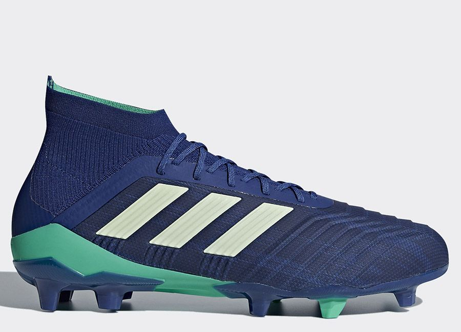 uk availability 9b82f c5ff6  football  soccer  futbol  adidasfootball  footballboots Adidas Predator  18.1 FG Deadly Strike - Unity Ink   Aero Green   Hi-Res Blue