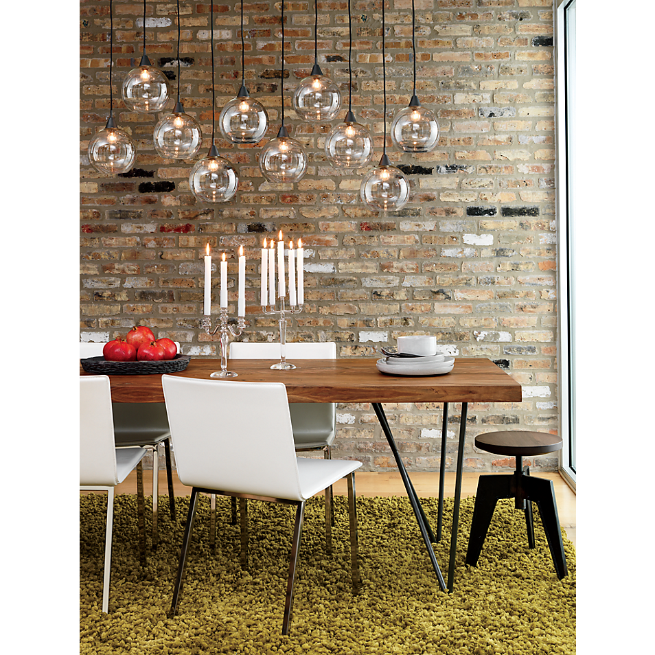 Firefly Pendant Lamp In View All Lighting Cb2 Dining Room