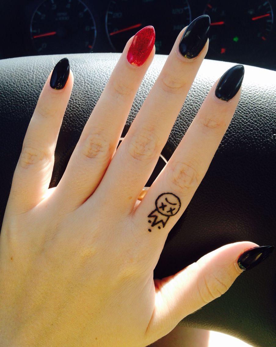 Fall out boy finger tattoo | Tattoos | Pinterest | Tattoo