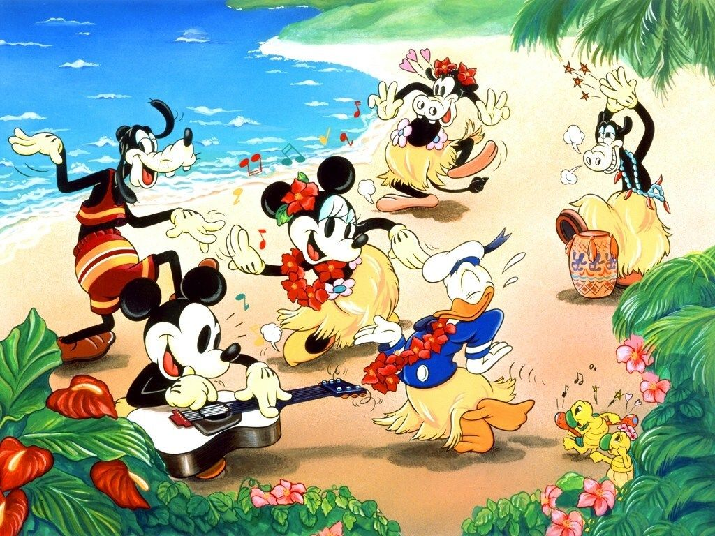 Free Disney Summer Wallpaper: 3Jokes Walt Disney Wallpapers (10)