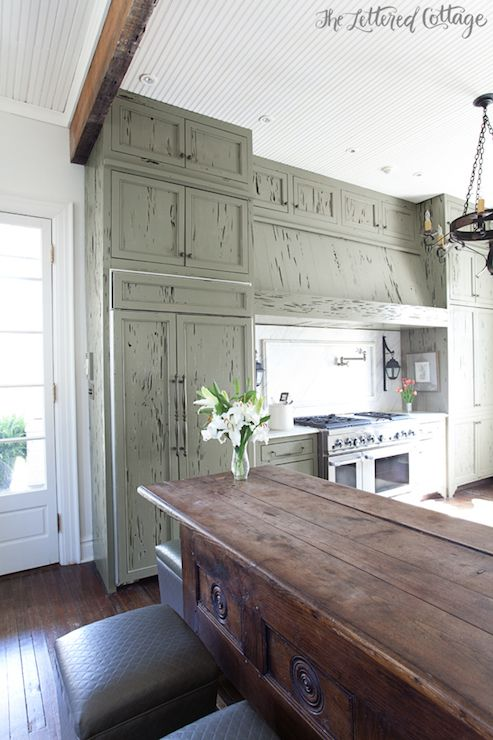 Cypress Cabinets Cottage Kitchen The Lettered Cottage Kitchen Remodel Kitchen Remodel Layout Kitchen Remodel Small