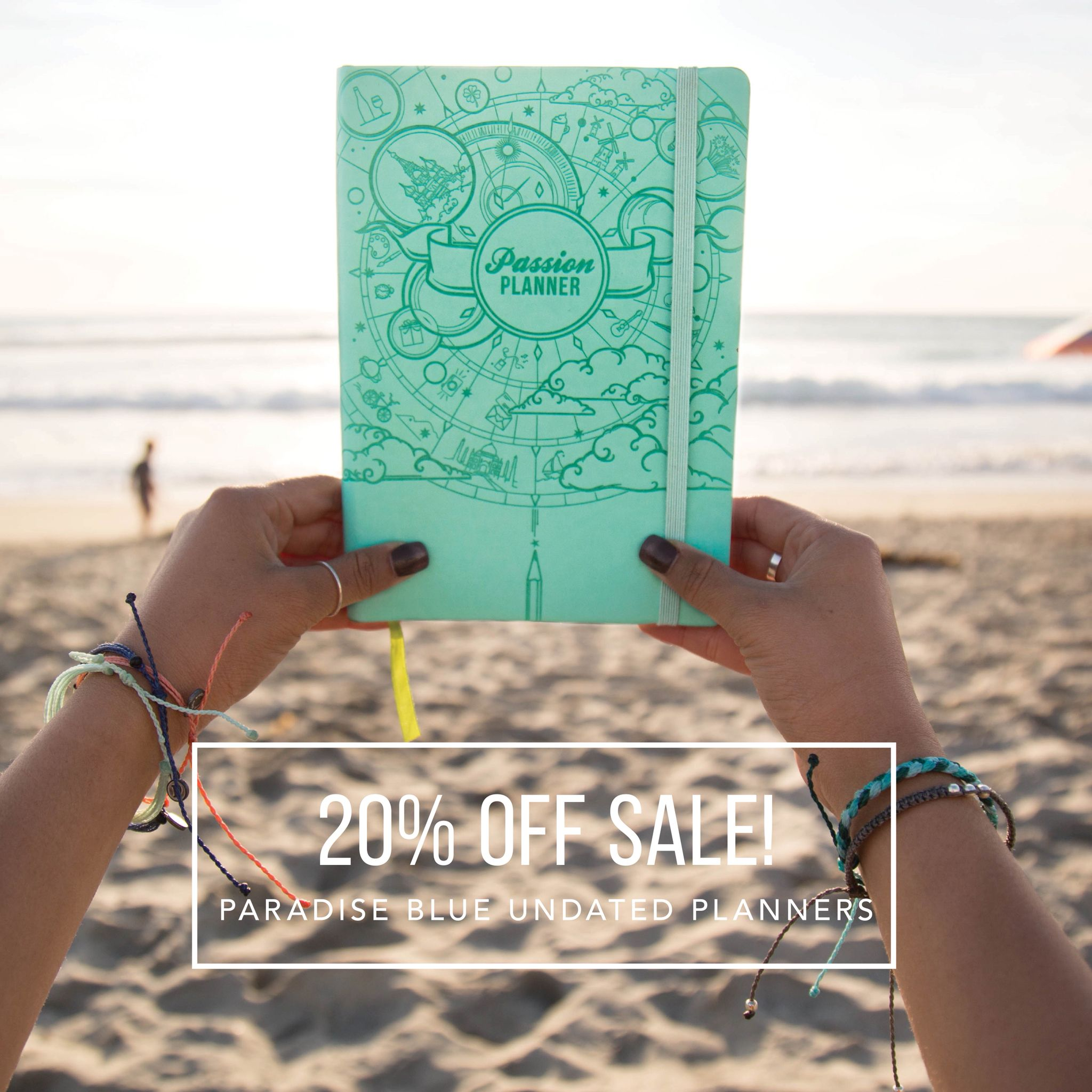 We have a little summer ☀️ treat  for you guys! 20% OFF SALE FOR ALL PARADISE BLUE  LIMITED EDITIONS ! Get them before they are gone!  - … DOUBLE SURPRISE !!! We are also offering 50% OFF ALL TIMELESS BLACK 2016 PASSION PLANNERS  while surprise lasts!  - Link: http://bit.ly/20C0udO  - #passionplanner #puravida #plannerlife #sale #summertime