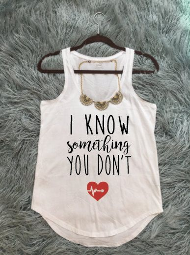 7a5090db171ca Baby Announcement Tank Top