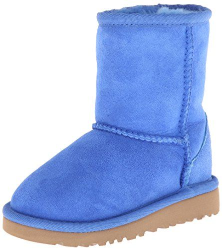 UGG-Australia-Toddler-Classic-Boot-in-Smooth-Blue-