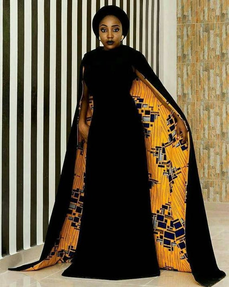 African clothing for women, Ankara dress, African gown, African prom dress, African party dress, African print dress